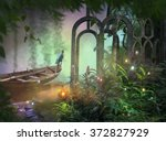 Jungle Path Fantasy Background