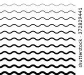 wave pattern. wave background... | Shutterstock .eps vector #372829441