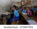 raxaul  india   nov 11 ... | Shutterstock . vector #372847501