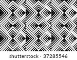 seamless color vector geometric ... | Shutterstock .eps vector #37285546
