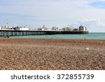 Beach View Of Brighton Pier ...