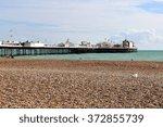 Beach View Of Brighton Pier ...