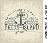rhode island horizontal... | Shutterstock .eps vector #372901189
