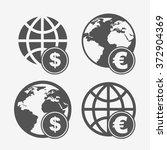 earth planet design  vector...   Shutterstock .eps vector #372904369