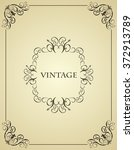 illustration vintage background ...   Shutterstock . vector #372913789