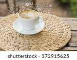 coffee cup idea   Shutterstock . vector #372915625