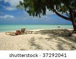 bora bora island   society... | Shutterstock . vector #37292041