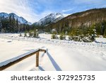 A View Of Winter Scenery In...