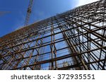 armature in the front of a blue ... | Shutterstock . vector #372935551