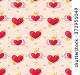 illustration seamless pattern... | Shutterstock . vector #372951049