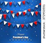 illustration patriotic... | Shutterstock . vector #372953551
