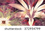 modern high resolution flower... | Shutterstock . vector #372954799