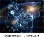 when numbers dream series.... | Shutterstock . vector #372959875