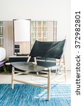 modern chair furniture... | Shutterstock . vector #372982801