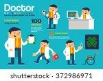vector illustration various... | Shutterstock .eps vector #372986971