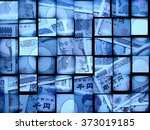 finance the currency of japan | Shutterstock . vector #373019185