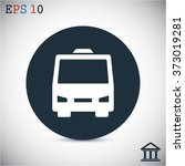 bus  vector icon | Shutterstock .eps vector #373019281