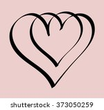 vintage hand drawing with... | Shutterstock .eps vector #373050259