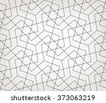 abstract geometric pattern with ... | Shutterstock .eps vector #373063219