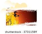 halloween banner   Shutterstock .eps vector #37311589
