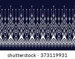 geometric ethnic pattern design ...   Shutterstock .eps vector #373119931
