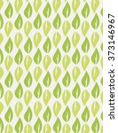 green leaf repeating pattern...   Shutterstock .eps vector #373146967