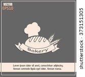 bakery graphic design   vector... | Shutterstock .eps vector #373151305