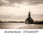 us navy battle ship  | Shutterstock . vector #373160197