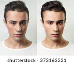 before and after cosmetic... | Shutterstock . vector #373163221