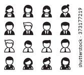 user  man  woman  businessman... | Shutterstock .eps vector #373177219