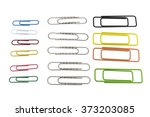 paperclip | Shutterstock . vector #373203085