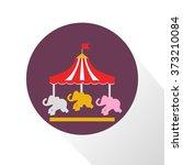 color children carousel icon | Shutterstock .eps vector #373210084
