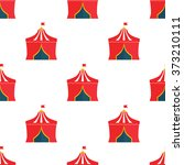color circus dome icon | Shutterstock .eps vector #373210111