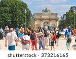 paris  france   july 9  2015 ...   Shutterstock . vector #373216165
