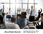 success achievement corporate... | Shutterstock . vector #373222177