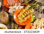 traditional lok lok street food ...   Shutterstock . vector #373223839