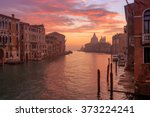 venice early morning. sunset... | Shutterstock . vector #373224241