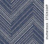 abstract washed indigo denim... | Shutterstock . vector #373261669