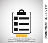 report icon | Shutterstock .eps vector #373277149