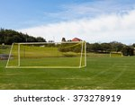 Soccer Field And Goals