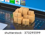 shipping and logistics concept | Shutterstock . vector #373295599