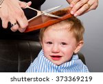 close up portrait of child... | Shutterstock . vector #373369219