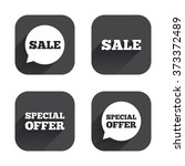sale icons. special offer...   Shutterstock . vector #373372489