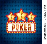 casino games design  vector... | Shutterstock .eps vector #373374445