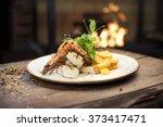 food   main course gourmet...   Shutterstock . vector #373417471