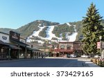 jackson hole  wy   may 13 2008  ... | Shutterstock . vector #373429165
