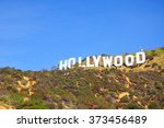 los angeles  the united states  ... | Shutterstock . vector #373456489