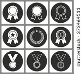 set of award icons for graphic... | Shutterstock .eps vector #373464511