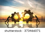 business innovation world... | Shutterstock . vector #373466071