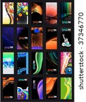 vector colorful abstract ... | Shutterstock .eps vector #37346770